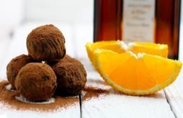spafternoon tea chocolate orange truffle