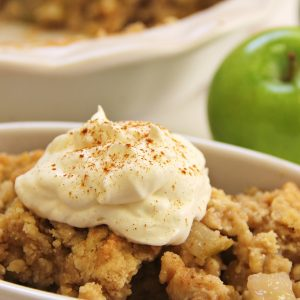 cognito spafternoon tea apple crumble