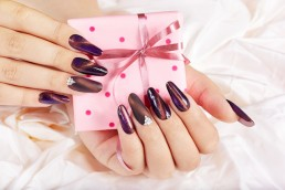 manicured nails and gift box seasonal marketing plan blog